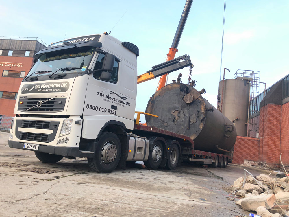HIAB crane hire in Greater Manchester