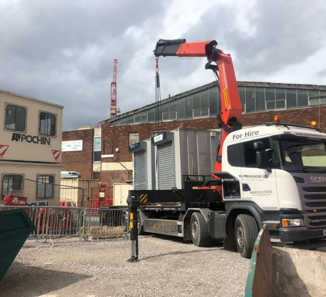 HIAB cranes for hire