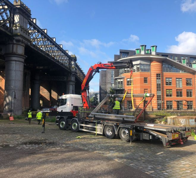 Site movements UK projects in Greater Manchester