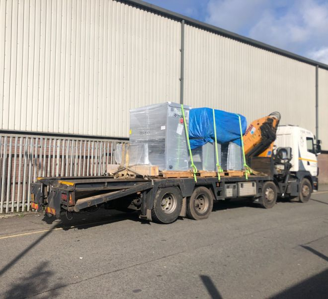 Plant transport around Greater Manchester