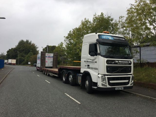 low loader hire manchester