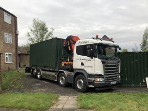 Cabin Delivery Bury