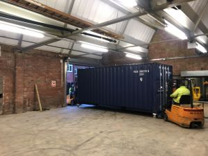 Containers in mill