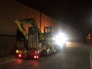 excavator delivery Trafford