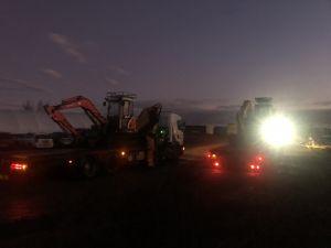 Excavation services Yorkshire