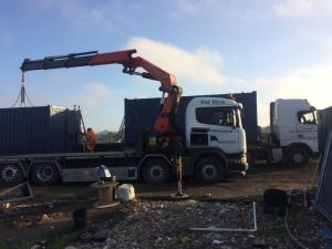Site Container hire