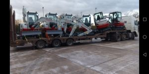 Plant Equipment Delivery