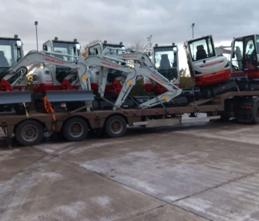 New Plant Equipment for Hire