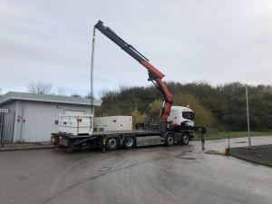 crane tranport bury